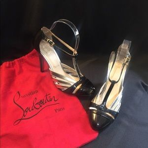 ❤️AUTHENTIC CHRISTIAN LOUBOUTIN HEELS & DUSTBAG‼️
